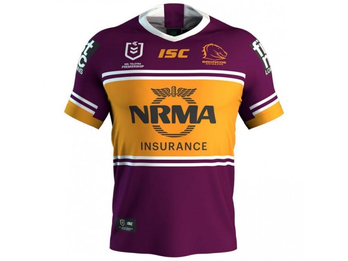 Brisbane Broncos 2019 Men s Home Jersey 02f094393
