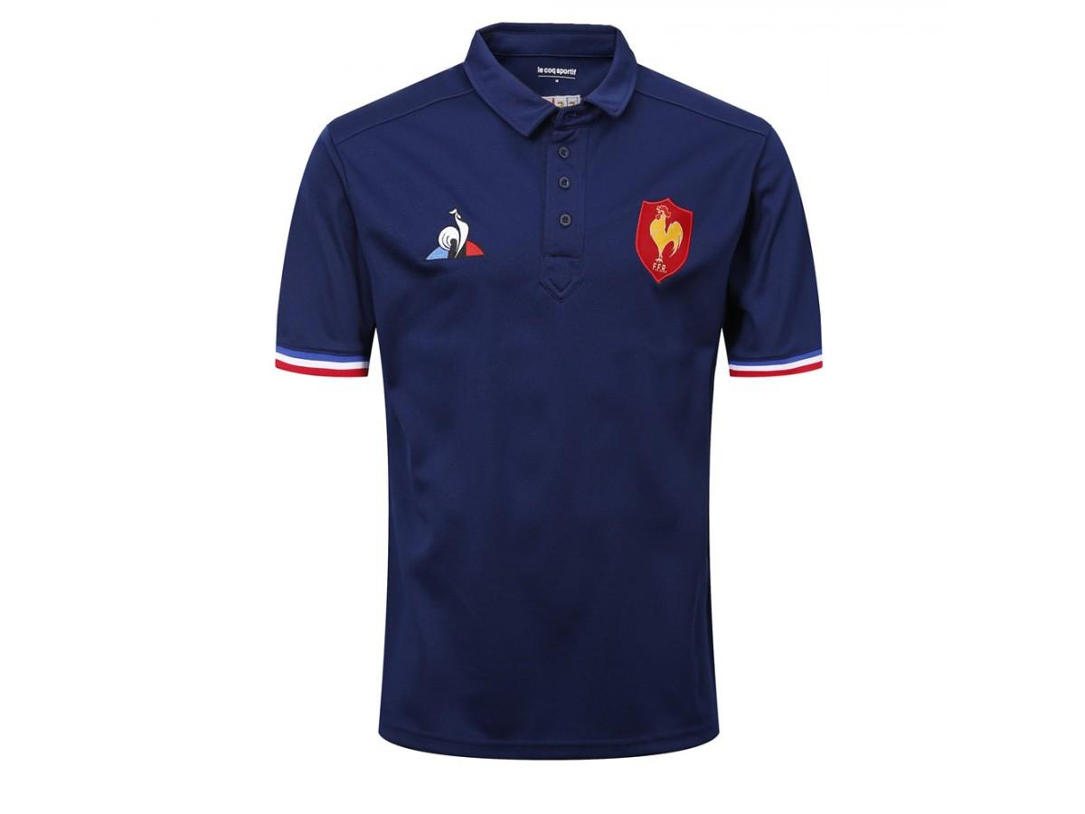 75bc631fb7c France 2018 2019 Presentation Rugby Polo Shirt
