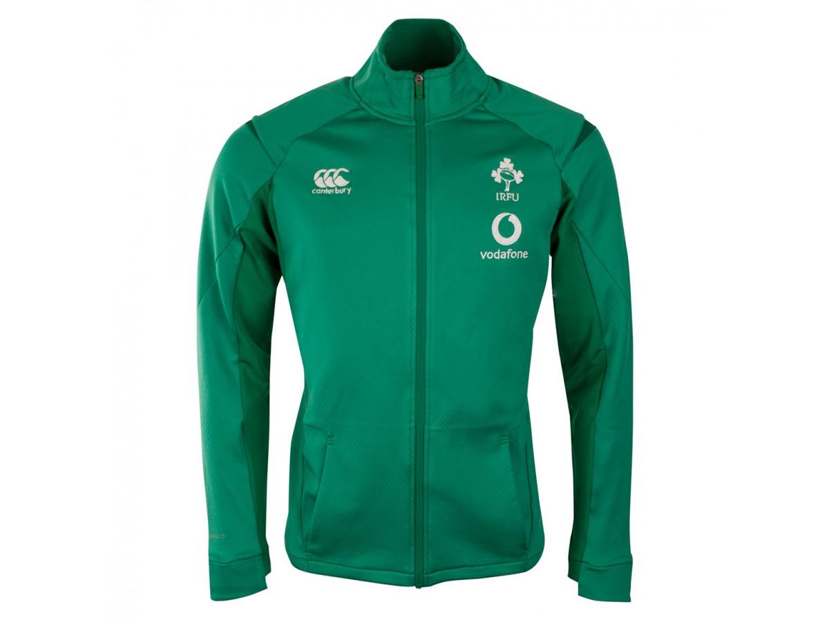 promo code 17d86 871b1 Ireland IRFU 2018/19 Players Anthem Rugby Jacket
