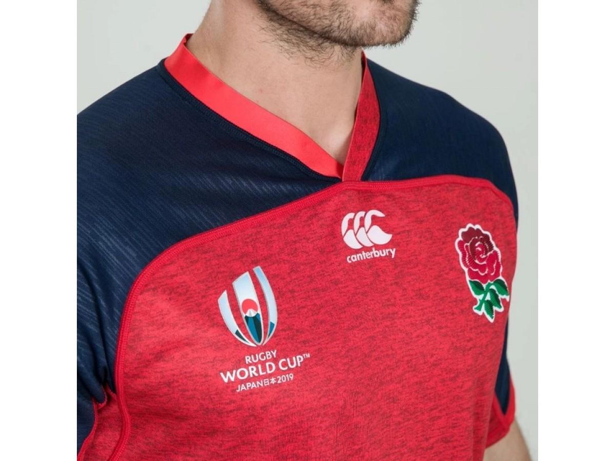 England Rugby Canterbury Men/'s RWC 2019 Alternate Pro Jersey Shirt New