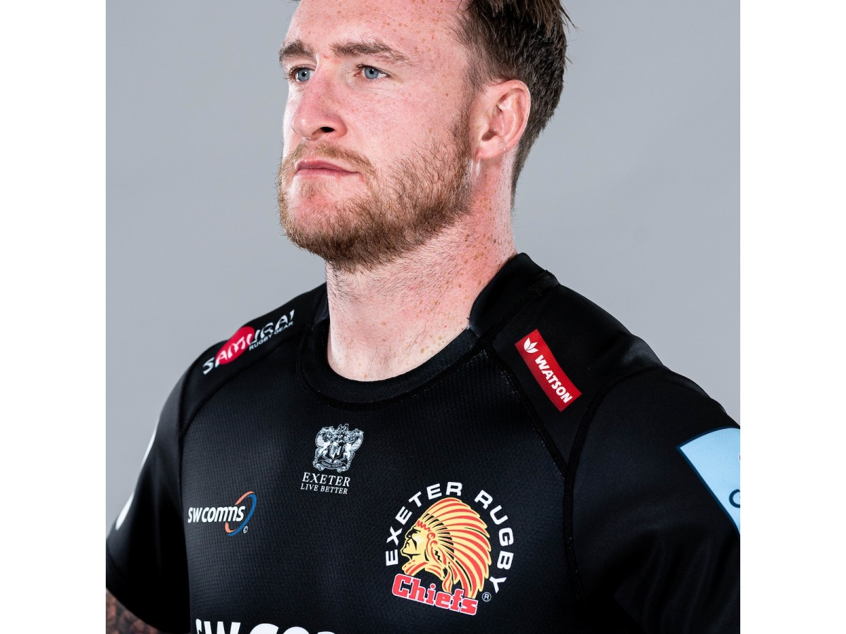 HUAXUN 2020 Exeter Chiefs Rugby Jersey,New Version Breathable Football T-Shirt Mens Competition Training Rugby Jersey