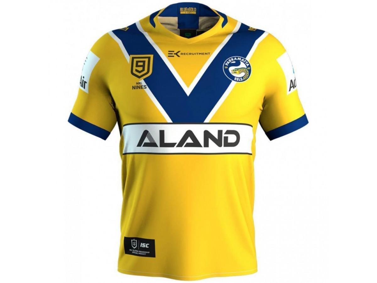 Parramatta Eels 2020 Men S Nrl Nines Jersey