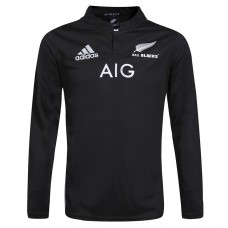 All Blacks Men's Long Sleeve Home Jersey