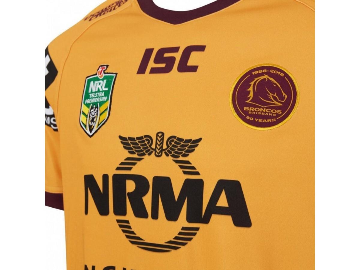 fe4fdecf57e Brisbane Broncos 2018 Men's Indigenous Jersey