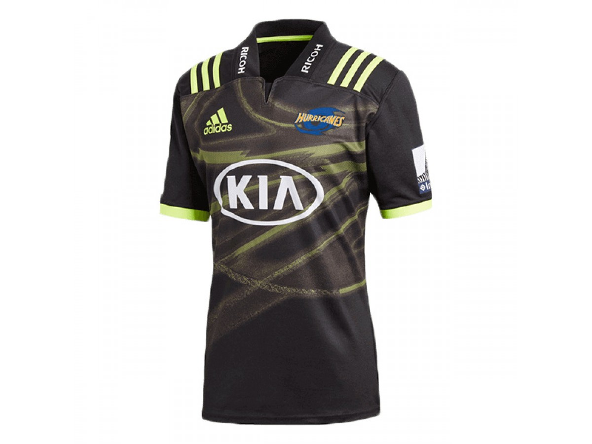 ca5249b4339 Hurricanes 2018 Super Rugby Away Jersey
