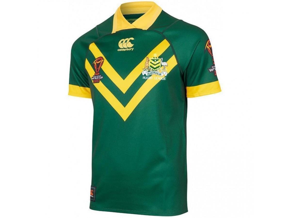 02c2e62aa4e Kangaroos 2017 Men's Replica Pro World Cup Jersey