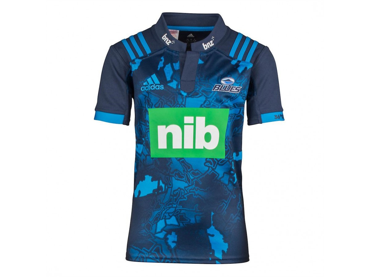 Blues 2017 MEN S ADIDAS AUCKLAND BLUES SUPER RUGBY SHIRT b413761d6