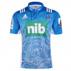 Blues 2017 Men's Rugby Jersey Away Short Sleeve