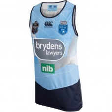 NSW Blues 2018 Men's Light Blue Singlet