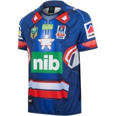 Newcastle Knights 2017 Men's Iron Patriot Marvel Jersey