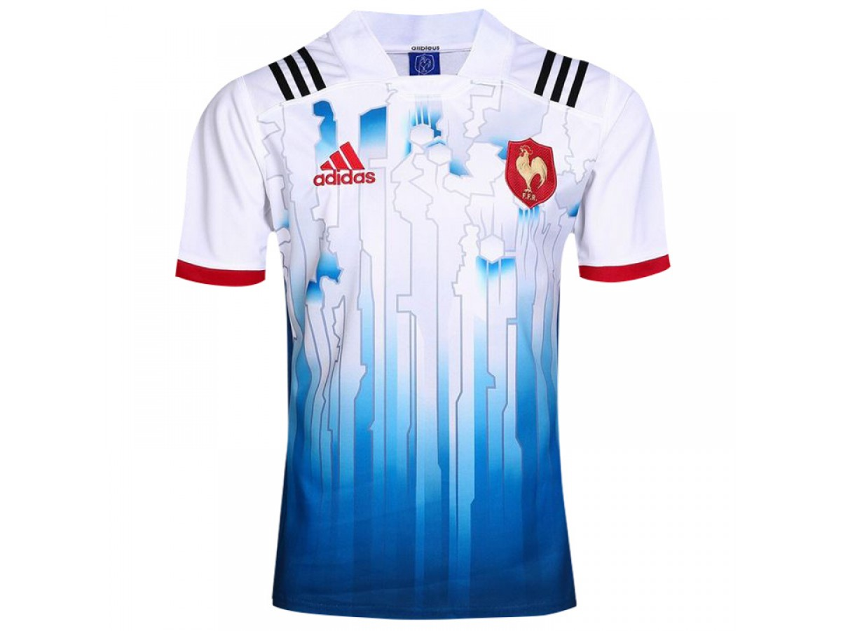ce4bf8f8ae6 2017 Men's France Home Rugby Jersey