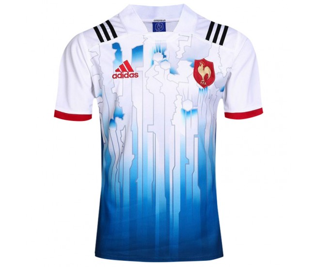 2017 Men's France Home Rugby Jersey