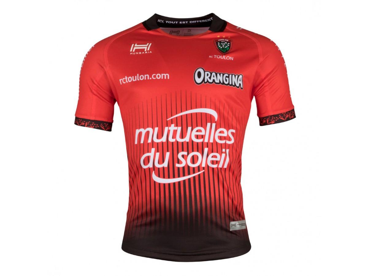 d99a885e4b0 2017/18 Men's France RCT TOULON Home Rugby Jersey
