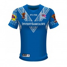 Samoa Rugby League World Cup 2017 Home Jersey