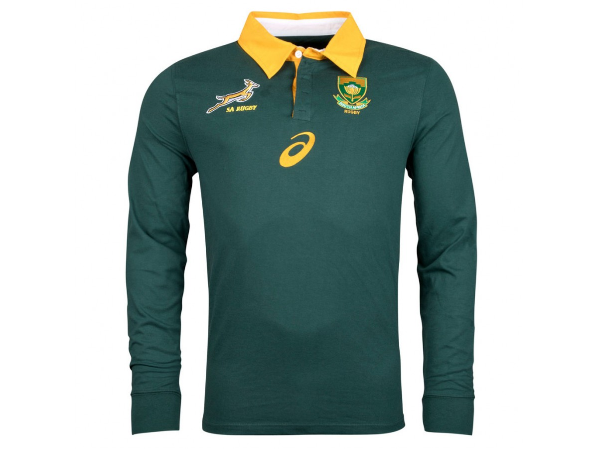 978163cfb South Africa Springboks 2017/18 Men's Home Jersey
