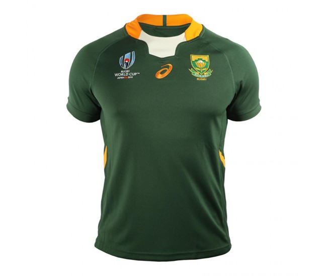 South Africa Springboks Home Rugby World Cup 2019 Jersey