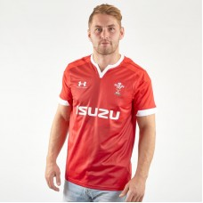 Under Armour Wales WRU 2020 Home Rugby Jersey