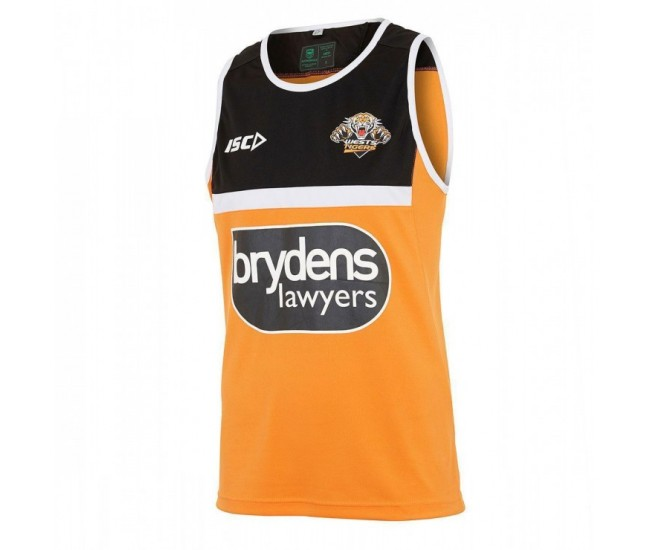 Wests Tigers 2018 Men's Training Singlet